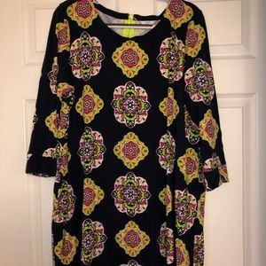 Patterned shirt dress from belk